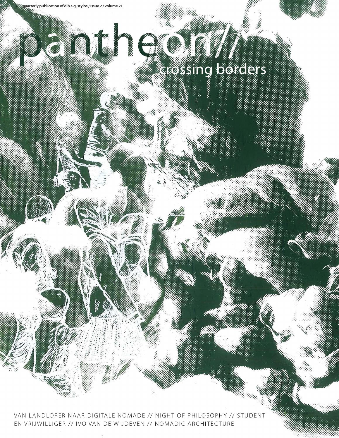 cover of pantheon// 2016 | crossing borders